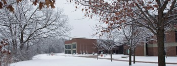 Winter scene at Coon Rapids