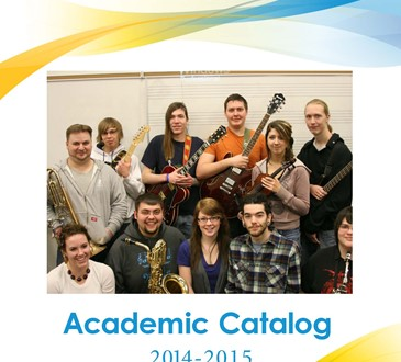 2014-15 academic catalog cover