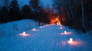 Candlelight Ski trailhead