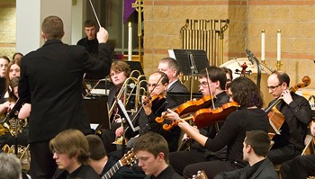 Caption: An annual Anoka-Ramsey Community College event, the All-Ensemble concert is celebrating more than 50 years of the college Music Department.