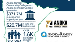 Anoka-Ramsey Community College and Anoka Technical College Economic Contribution Estimated at $371.7 million