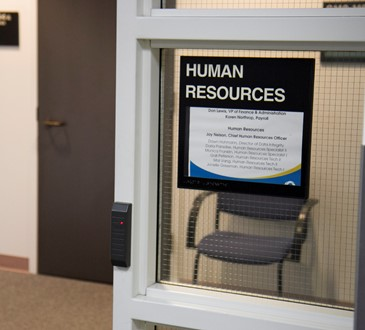 Human Resources Door Sign