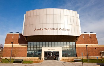 Front of Anoka Technical College