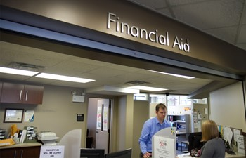 Financial Aid Counter
