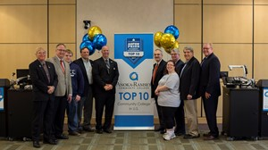 Regional legislators and others join Anoka-Ramsey Community College in celebrating being named one of the top 10 community colleges in the U.S. by The Aspen Institute.